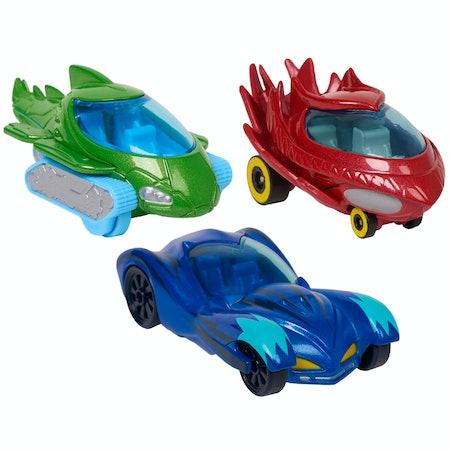 PJ Masks Die-Cast Vehicles 3-Pack