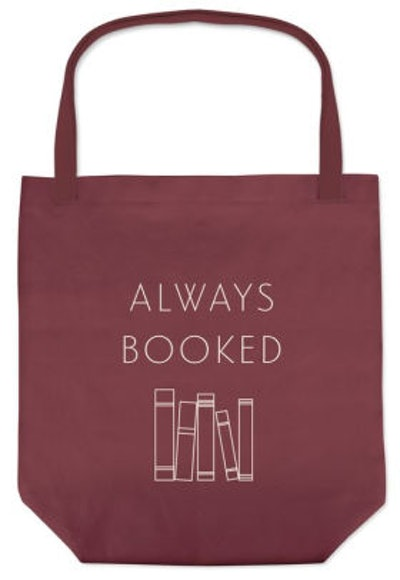Always Booked Tote
