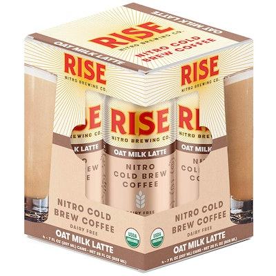 Oat Milk Nitro Cold Brew Latte