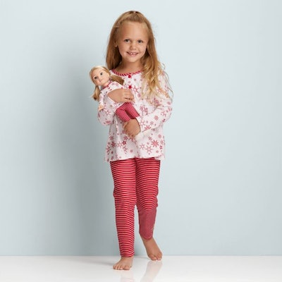 Wondrous Wishes Pajamas for Girls & WellieWishers Dolls