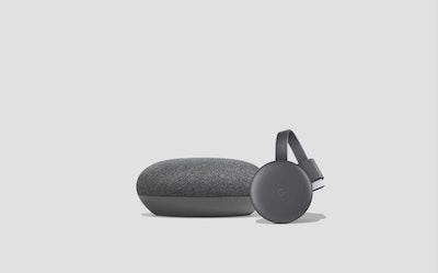 Google Smart TV Kit: Google Home Mini and Chromecast