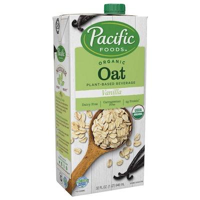 Organic Oat Vanilla Plant-Based Beverage