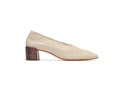 Woven Lambskin Shoes