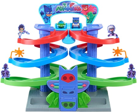PJ Masks Spiral Die Cast Playset
