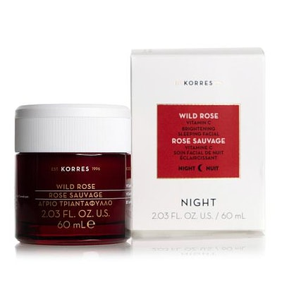 Wild Rose Jumbo Vitamin C Brightening Sleeping Facial