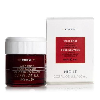 Wild Rose Jumbo Vitamin C Brightening Sleeping Facial