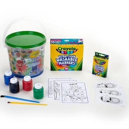 Crayola Creativity Bucket, PJ Masks