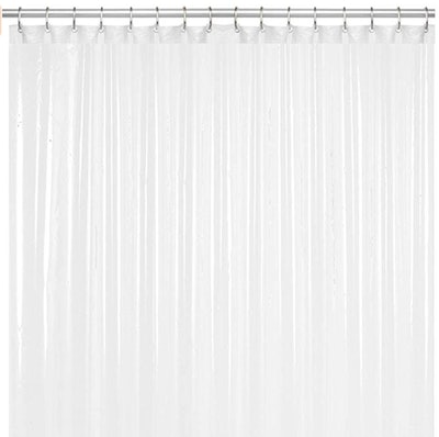 Liba PEVA Antimicrobial Shower Curtain Liner