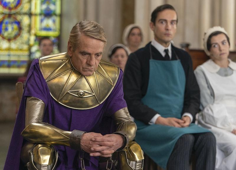 'Watchmen' reveals what Veidt's captor Dr. Manhattan has been up to