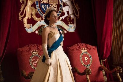 Claire Foy as Queen Elizabeth II in The Crown