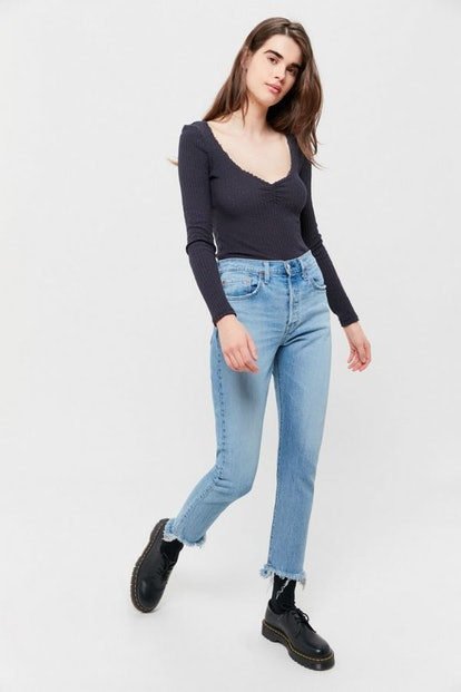 Levi's 501 Skinny Jean — Blue Mark
