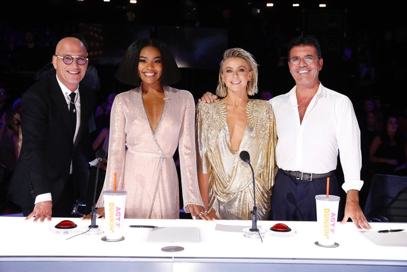 Gabrielle Union, Julianne Hough, 'America's Got Talent'