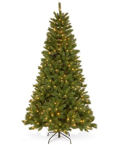 National Tree Company Pre-Lit 7FT Mixed Pine Tree
