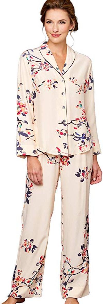 Julianna Rae Mulberry Silk Pajama Set
