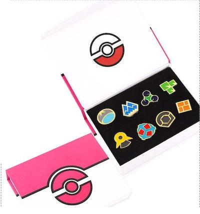 Pokémon Anime Sinnoh League Gym Badge Set