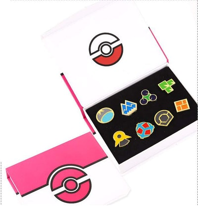 Pokémon Anime Sinnoh League Gym Badge Set