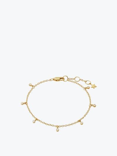 Gold Interstellar Drop Bracelet
