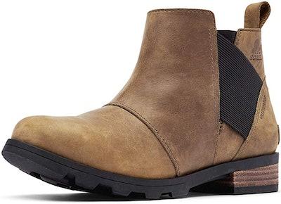 Sorel Women's Emelie Chelsea Waterproof Ankle Boots