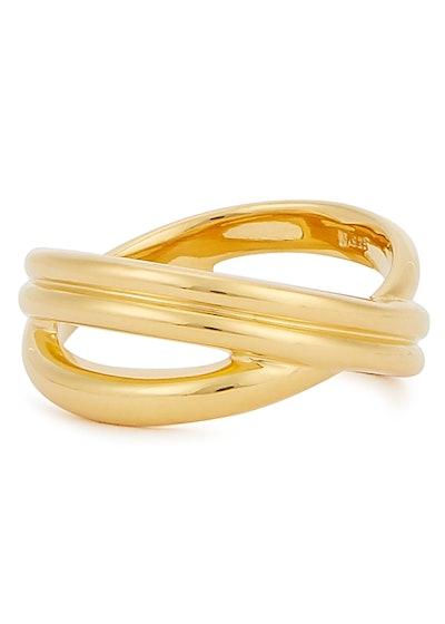 Gold Infini Ring
