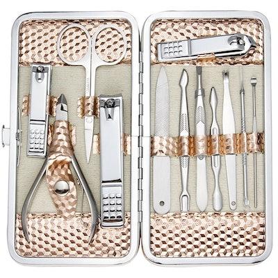 ZIZZON Professional Nail Care Kit (12 Pieces)