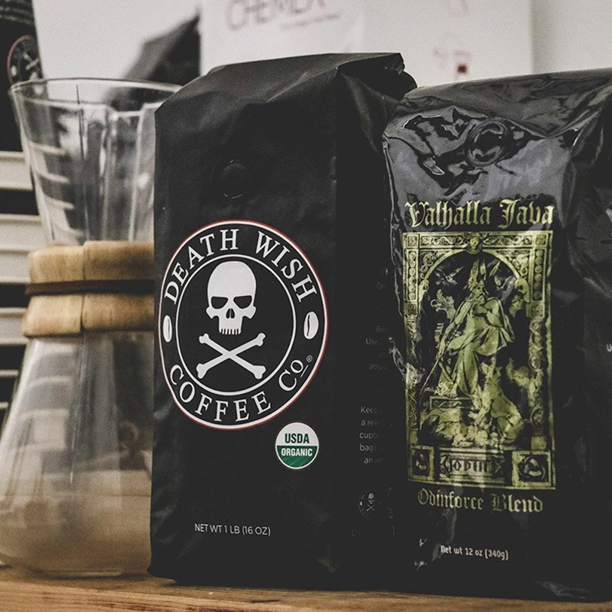 """The World's Strongest"" Ground Coffee & Valhalla Java Ground Coffee Bundle Deal (2-Pack)"
