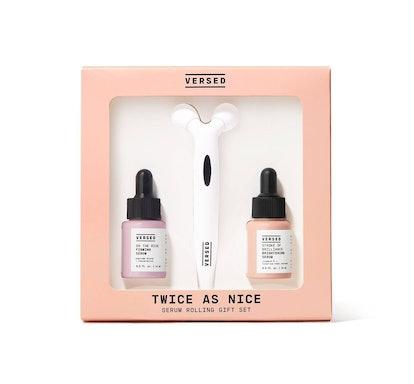 Twice As Nice Serum Rolling Gift Set