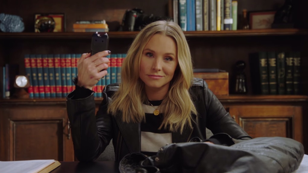 Kristen Bell in 'Veronica Mars' on Hulu