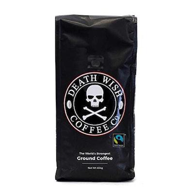Death Wish Ground Coffee Co. World's Strongest Coffee