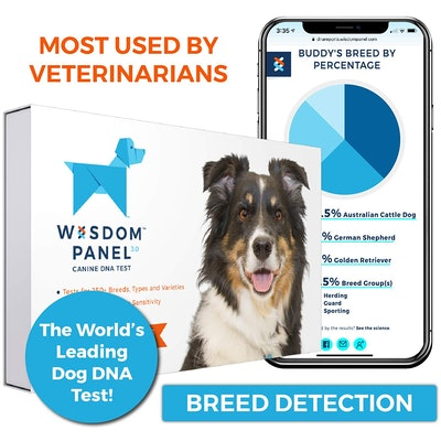 Dog DNA Test Kit Wisdom Panel 3.0 Canine DNA Test