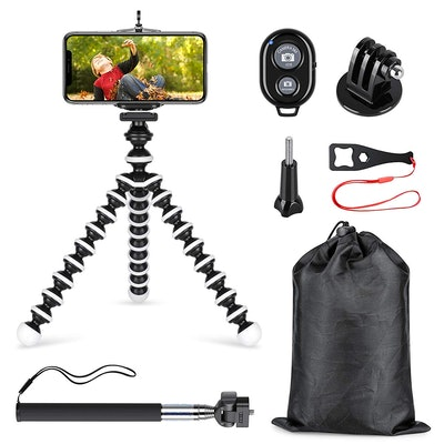 SmilePowo Phone Tripod and Selfie Stick Kit