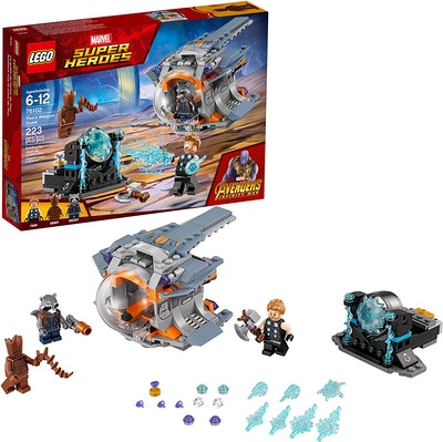 LEGO Marvel Super Heroes Avengers: Infinity War Thor's Weapon Quest Building Kit