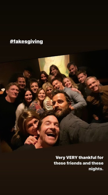 These pics prove Jennifer Aniston's Friendsgiving was packed with celebs.