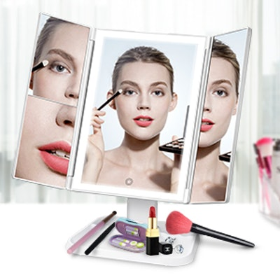 AirExpect Lighted Makeup Vanity Mirror