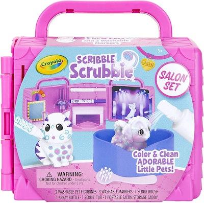 Crayola Scribble Scrubbie Pets Salon Animal Toy Set