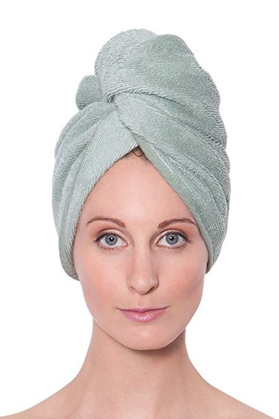TexereSilk Women's Bamboo Viscose Hair Towel