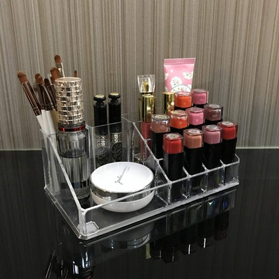 Ikee Design Acrylic Jewelry Makeup Organizer