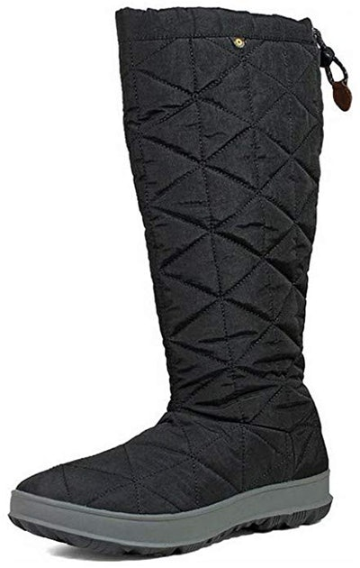 BOGS Women's Snowday Tall Waterproof Insulated Winter Snow Boot