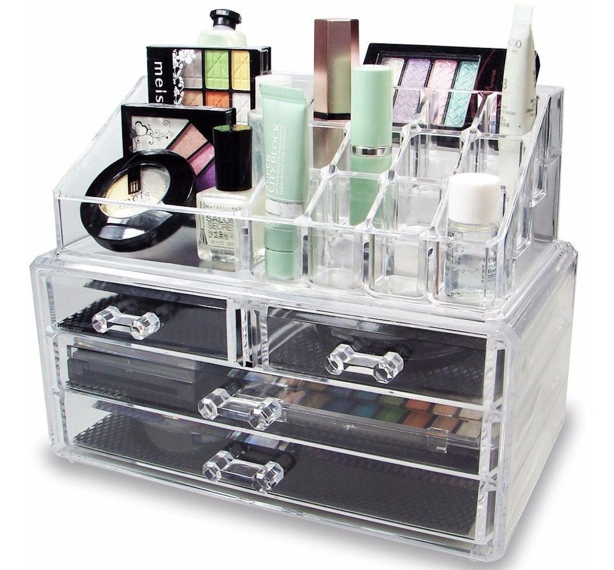 Ikee Design Jewelry and Cosmetics Organizer
