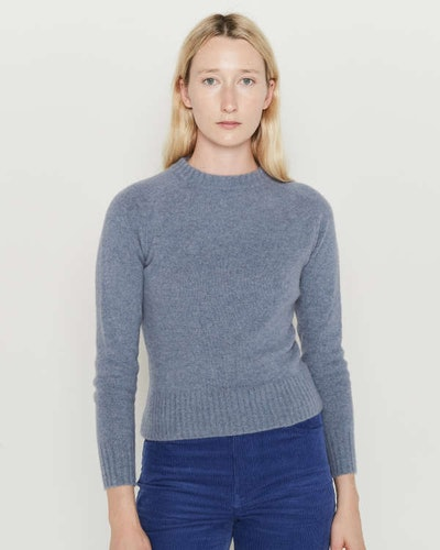 The Tiny Sweater. Type A, Version 10. Blue.