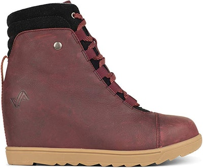Forsake Alma Women's Leather Wedge Water-Resistant Boot