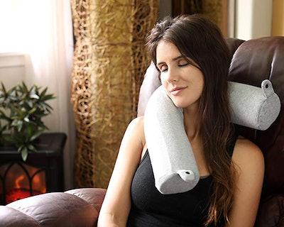 Dot&Dot Twist Memory Foam Travel Pillow