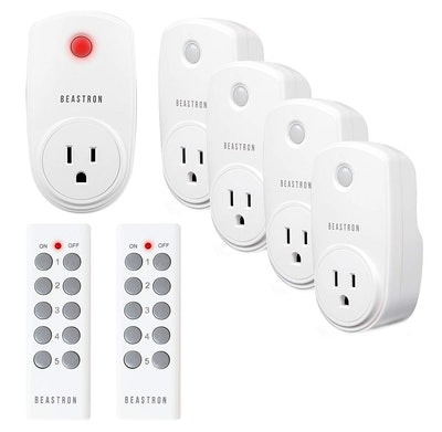 Beastron Remote Control Outlet Switches (5-Pack)