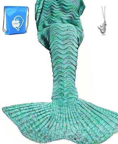 LAGHCAT Mermaid Tail Blanket