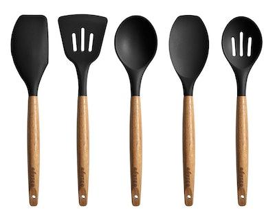 Miusco Silicone Cooking Utensils (5-Piece Set)