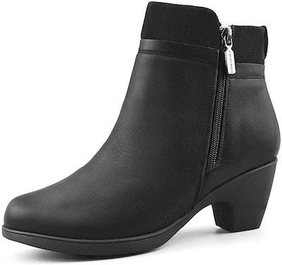 Comfy Moda Women's Fur-Lined Warm Winter Office Boots