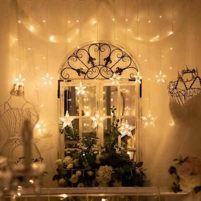 YINUO LIGHT Star Curtain String Lights