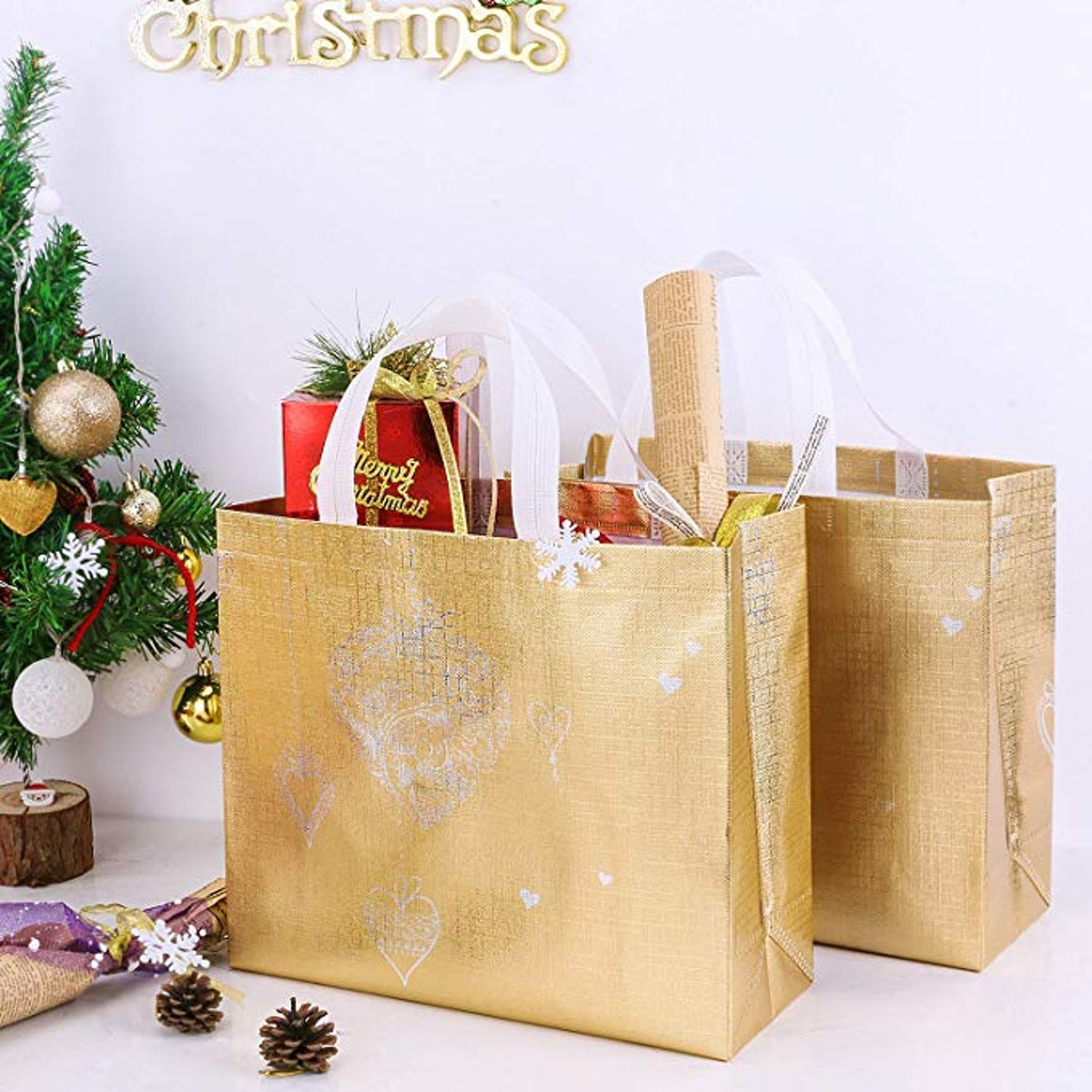 Gesodant Reusable Grocery Bag (10 pack)