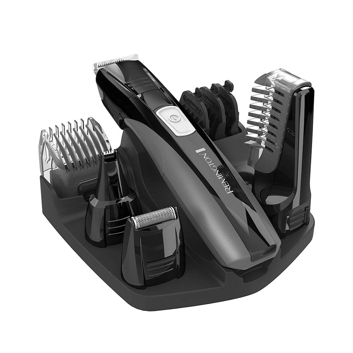 Remington PG525 Lithium Powered Body Groomer Kit,
