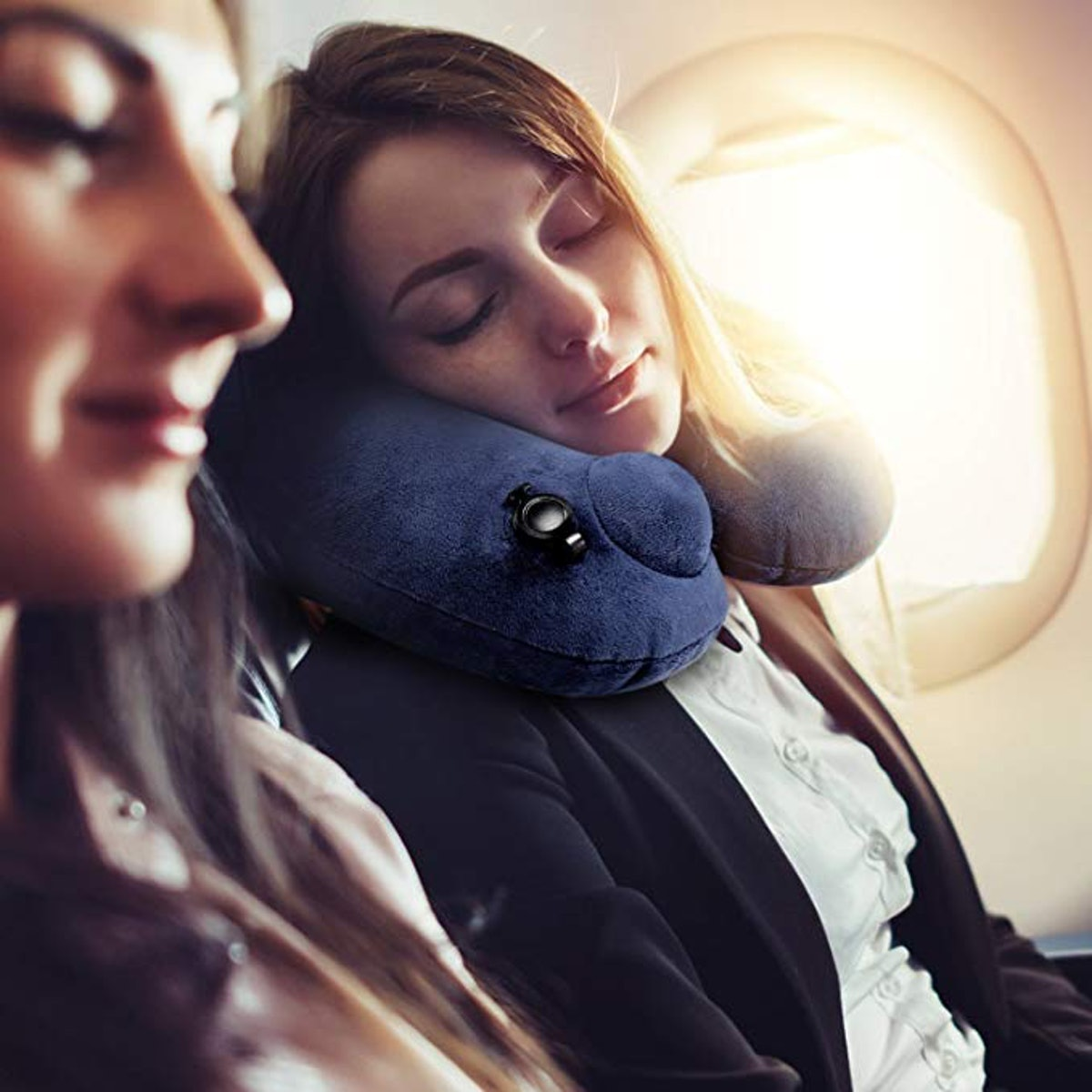 PUYIYUP Inflatable Travel Pillow