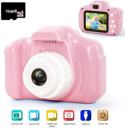 hyleton Digital Camera for Kids